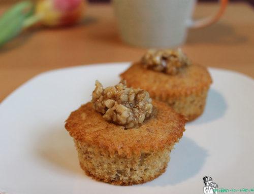 Honig-Walnuss-Muffins