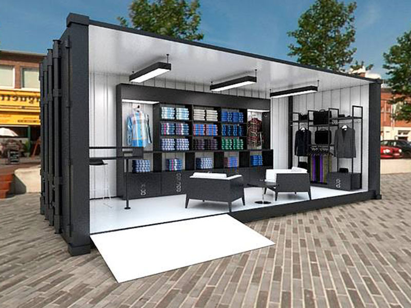 Container Pop-Up Store Wien