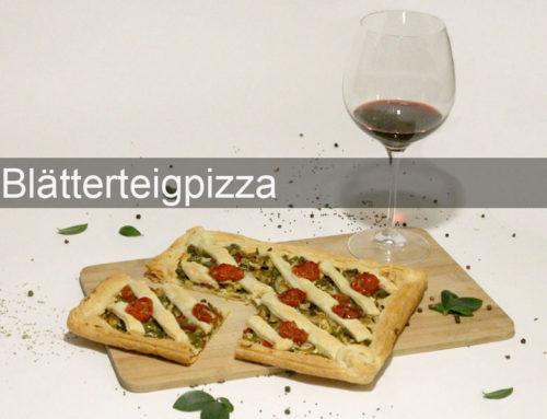 Blätterteigpizza