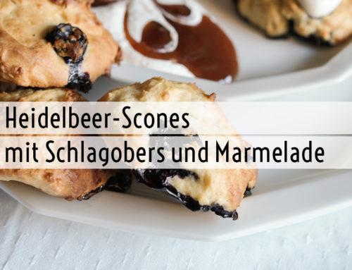 Heidelbeer-Scones
