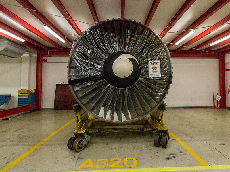 Triebwerk einer A320