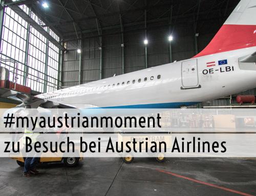 #myaustrianmoment Bloggerveranstaltung mit der Austrian Airlines