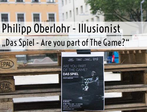 Philipp Oberlohr – Illusionist (mit Gewinnspiel!)