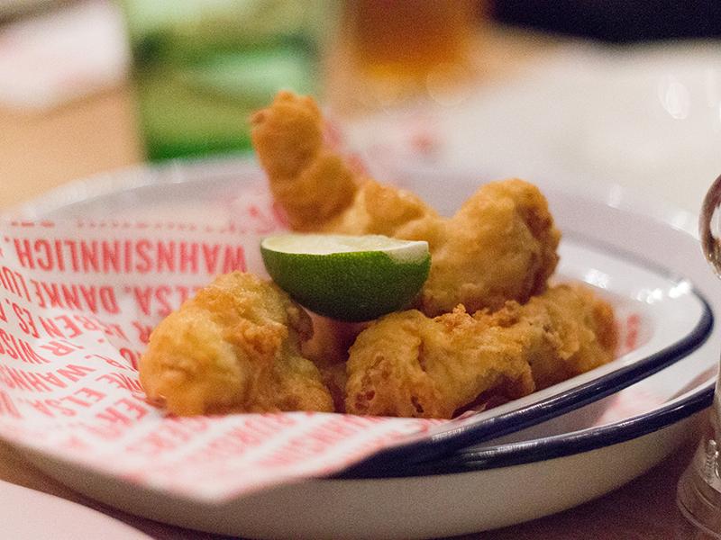 Crispy Chicken Fingers (€ 8,90)