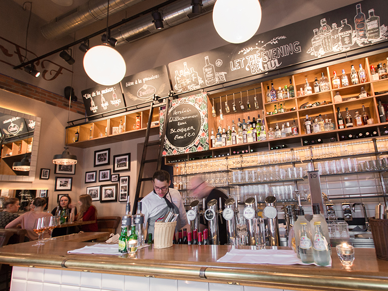Die Bar im Flatscher Bistrot & Bar