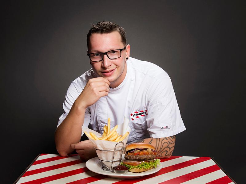 Küchenchef David Svarc (c) TGI Fridays