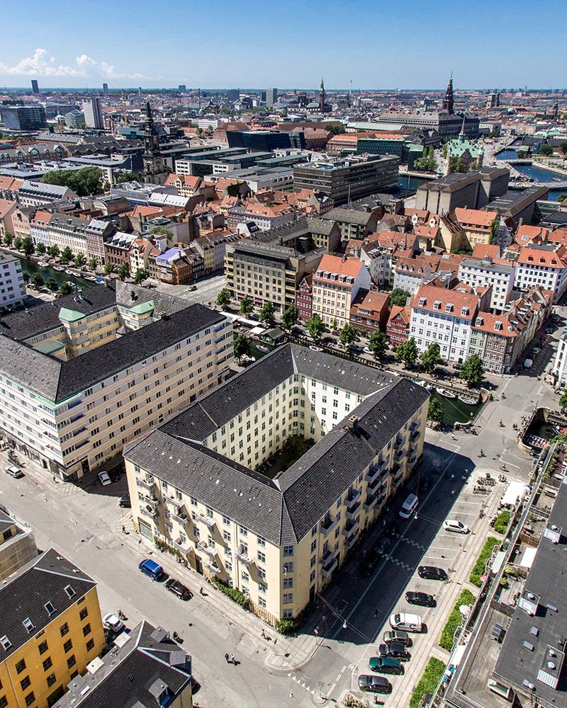 Juni 2016: Aussicht von der Vor Frelsers Kirke in Kopenhagen. Mit @fabolus_vienna
