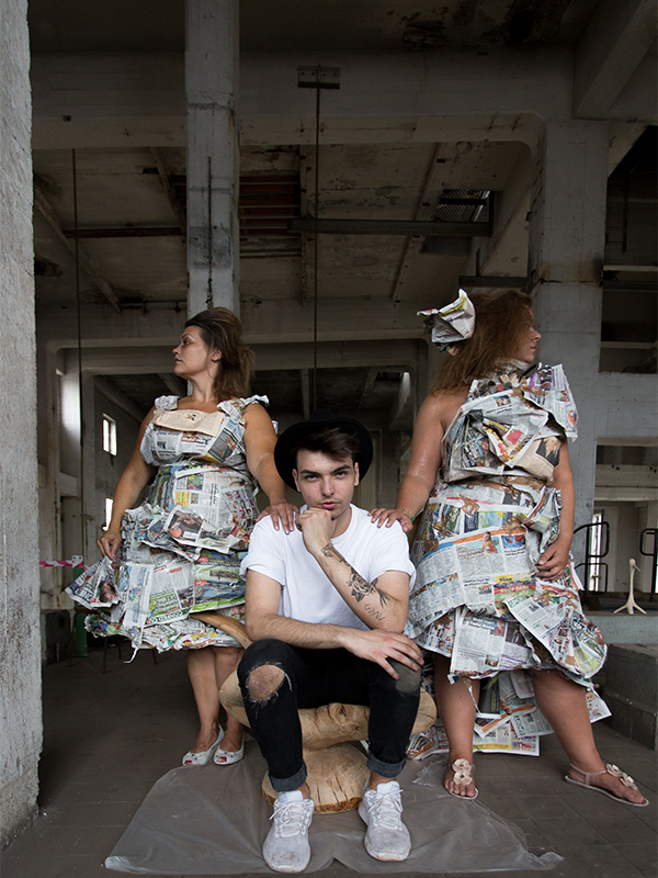 Karo, Kevin und Justyna