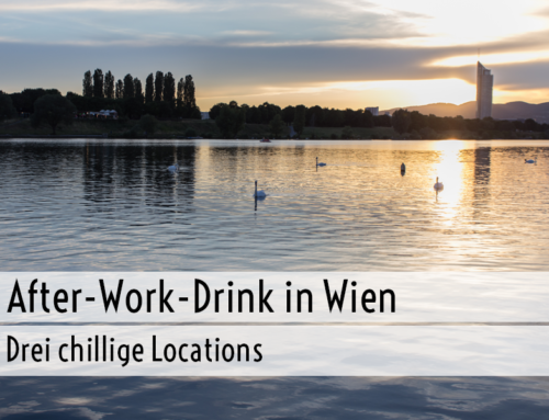 Drei Locations für den obligatorischen After-Work-Drink