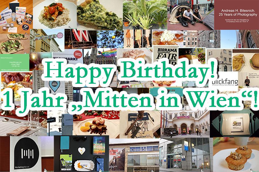 1 Jahr Mitten in Wien (mit Gewinnspiel!)