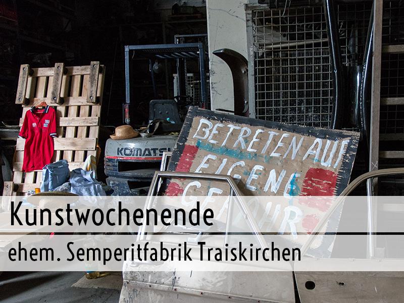 Kunstwochenende Semperitfabrik