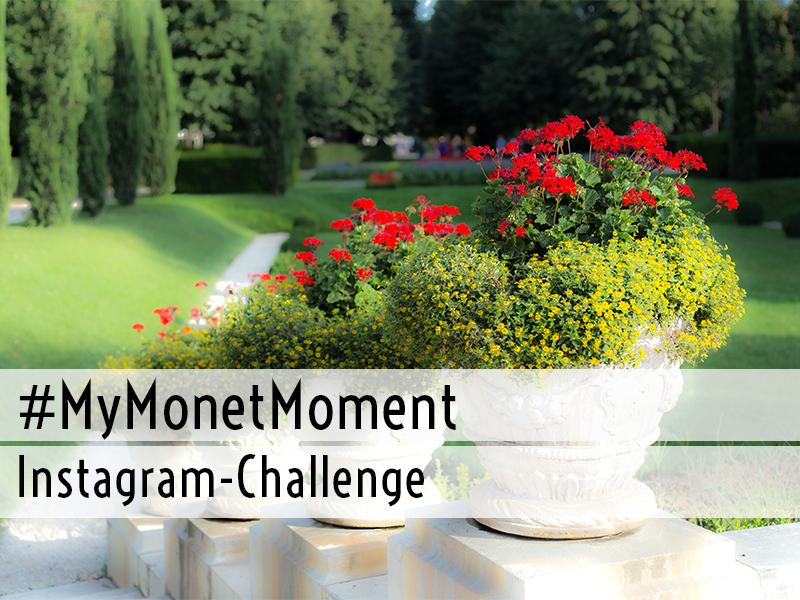 #MyMonetMoment Instagram-Challenge